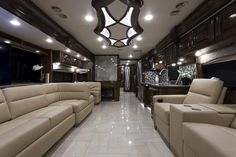 2018 Tuscany 45MX | Moonstone | High-Gloss Glazed Pacific | Front-to-Back