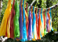 Show details for Tassel garland - rainbow Ideas Decoracion Cumpleaños, Ideas Para Fiestas, 7th Birthday, Birthday Party Themes, Mobiles, Candy Buffet Tables, Home Wedding Decorations, Rainbow Parties, Tassel Garland