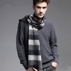 http://www.buyhathats.com/black-and-gray-plaid-scarf-men-warm-winter-cashmere-scarf.html