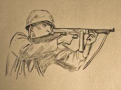 Tommy gun WW2