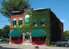 "Number 5 restaurant, Binghamton. ""A little bite of the Big Apple."""