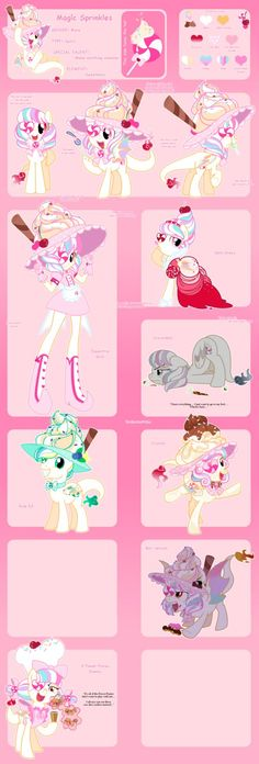 Magic Sprinkles Reference by YokoKinawa on DeviantArt