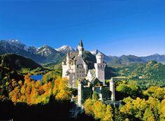 The Neuschwanstein Castle. (Germany)