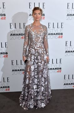 Pin for Later: Stars Pulled Out All the Stops For the Elle Style Awards Arizona Muse