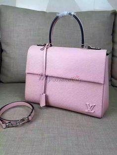 Louis Vuitton Cluny MM Rose Ballerine