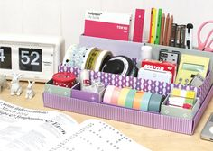 DIY Paper Storage/Organization Boxes!