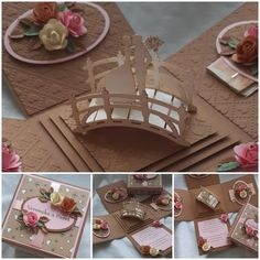 Exploding Boxes, Table Decorations, Cards, Wedding, Furniture, Home Decor, Valentines Day Weddings, Decoration Home, Room Decor