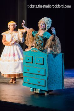 Madame de la Grande Bouche (The Wardrobe) Beauty and the Beast