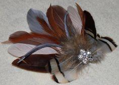 Chocolate Mocha Brown Beige Gray Goose by SweetLovelyCreations, $29.99