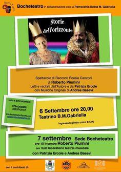 Locandina spettacolo con Patrizia Ercole