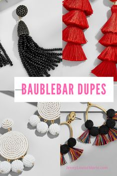 Love Baublebar earrings, bug not the prices?  You will love these spot-on dupes for way less $$.