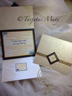 Tarjetas De Invitacion Bodas Matrimonios Bautizos Comunion