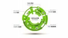 3D Professional Circle Prezi Template   ShareTemplates