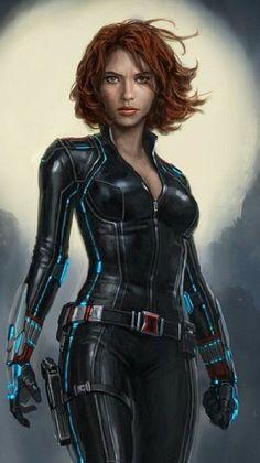 black widow art ,so amazing #blackwidow #marvel #cosplayclass