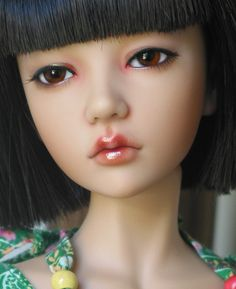 makeup and beauty based on doll paints