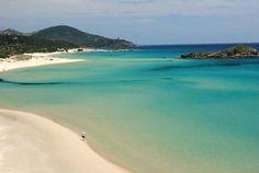 Chia beach Sardinia island
