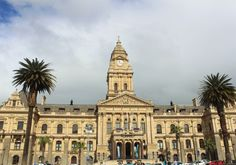 Cape Town City Hall - the limestone was imported from Bath, England Colorful Pictures, Virtual Tour, Cape Town, Big Ben, South Africa, England, Tours, City, Building