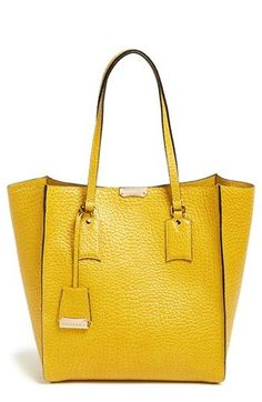 Burberry 'Medium Woodbury' Leather Tote available at #Nordstrom
