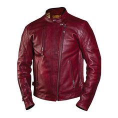 A cafe-racer inspired, feature-loaded leather jacket, the Roland Sands Design Clash motorcycle jacket is a stylish, practical, and safety-conscious offering. With pockets to accept armor in the should