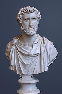 Antonino Pio,II sec d.C.,marmo,Glyptothek, Monaco.