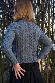Ravelry: Cable Round Sweater pattern by Linda Marveng