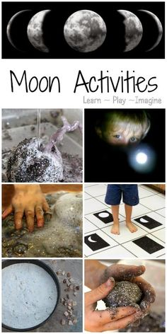 18 hands on activities to learn about the moon
