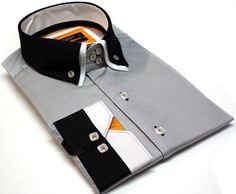 Sew Men Clothes - This post may contain affiliate links. The men's shirt pattern free is for a classic shirt. It has a collar and full-length button opening at the front. Button down shirts are timeless and versatile. You can get a formal or casual … Read Sewing Men, Sewing Leather, Love Sewing, Sewing Clothes, Men Clothes, Dress Sewing, Sewing Patterns Free, Free Pattern, Mens Shirt Pattern