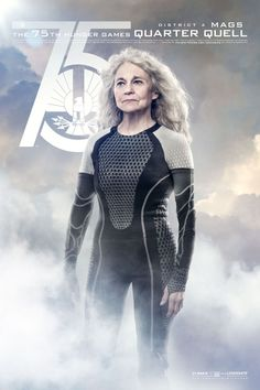 Catch Your Breath: The New 'Hunger Games: Catching Fire' Posters Are Here!: Lynn Cohen as Mags