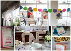 """Love this idea! A """"Sprinkles"""" themed first birthday!"""