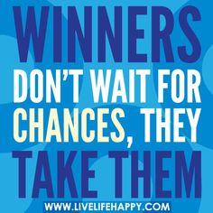 Winners Don't Wait