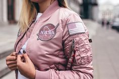 @alphaindustries Classic #Nasa MA-1 Bomber Jacket avaliable in store and online at www.streetsupply.pl