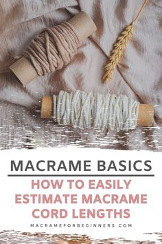 Macrame Plant Hanger Patterns, Free Macrame Patterns, Macrame Wall Hanging Patterns, Macrame Plant Hangers, Macrame Supplies, Macrame Projects, Diy Cadeau, Macrame Cord, How To Macrame
