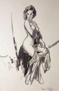 Adam Sorin - ) Nud în atelier / Nude in artist's studio Nude, Studio, Artist, Atelier, Feral Cats, Artists, Studios