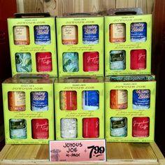 Trader Joe's Joyous Joe Coffee 11 ounce box for $7.99 トレーダージョーズ ジョイアス ジョー コーヒー