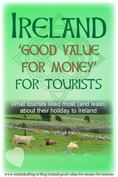 Ireland has been given a strong seal of approval from overseas visitors, according to the latest survey from tourism organisation Fáilte Ireland. The majority of people are very satisfied with their visit to Ireland with many saying it exceeded their expectations.