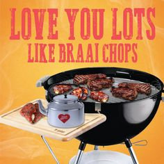 Lots like Braai Chops love card for Kinky Rhino Greeting Cards in South Africa Retro Pics, Retro Pictures, Puns Jokes, Funny Puns, Birthday Wishes, Birthday Cards, Happy Birthday, Goeie More, Funny Greetings
