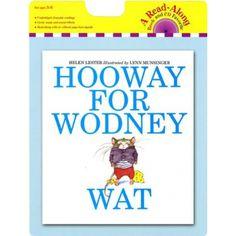 Carry Along Book & CD, Hooway for Wodney Wat, HOU9780547552170