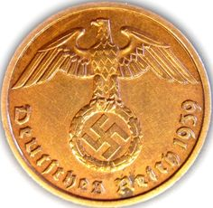 Germany, German Third Reich-Two Reichspfennig Coin