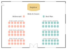 Wedding Ceremony Seating Google Search Reception Chart