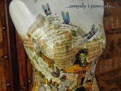 .zmysły i pomysły: manekin Ważki,Klimt i Różności