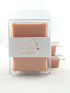 Port Royal Peach Wax Melts