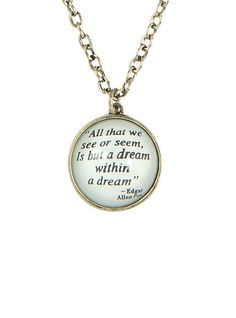 LOVEsick Dream Quote Necklace | Hot Topic