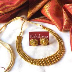 No photo description available. Jewelry Design Earrings, Gold Earrings Designs, Gold Jewellery Design, Necklace Designs, Beaded Jewelry, Gold Jewelry, Indian Jewelry Sets, Silver Jewellery Indian, Bridal Jewelry Vintage