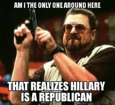 I don't know if I would go this far...But she IS a criminal, which is generally the Republicans' way of life..