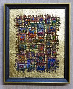 """(Above: On Gold VI. Inventory # 3346. Framed: 9"""" x 11"""". $150 plus tax and shipping. Click on any image in this post to enlarge.) Every o..."""