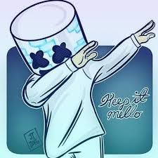 """Keep It Mello""- Marshmello! Le Dab, Dj Marshmello, Marshmello Wallpapers, Sketch Manga, Electro Music, Edm Music, Avicii, Dubstep, Music Artists"
