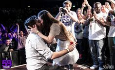 Rapper Proposes To Girlfriend During Rap Battle