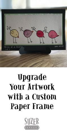 Upgrade your masterpieces from refrigerator art to home gallery status by cutting a custom paper frame. Drawing Programs, Paper Cutting, Cut Paper, Blog Names, Double Stick Tape, Cricut Tutorials, Paper Frames, Frame It, New Hobbies