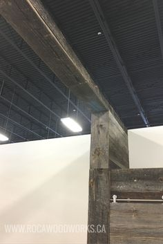 Barn Board Wall Panel With Arch
