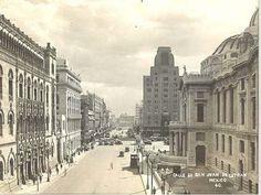 Cd. de Mexico 1934, Av. San Juan de Letran